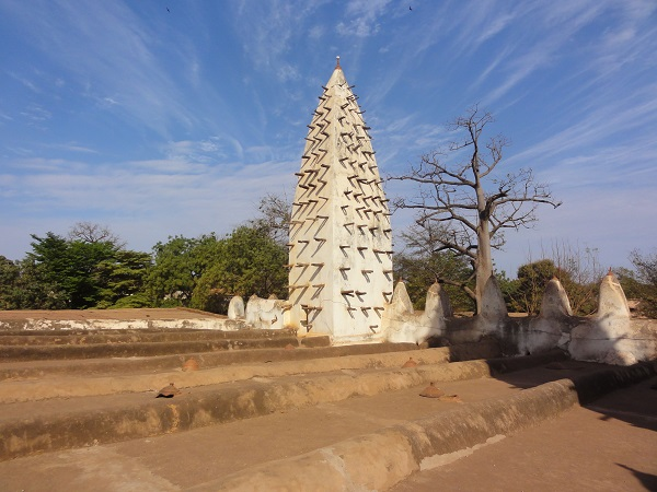 Mud mosque in Bobo Dioulasso