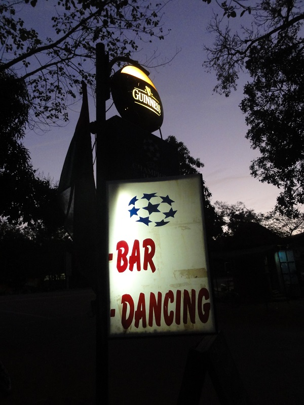 Bar Dancing.....says it all!