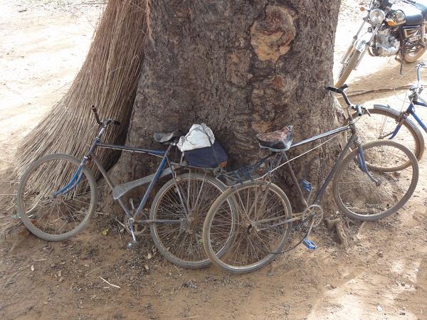 Bicycles in Banfora